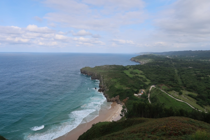 View from the Mirador del Toro- Llanes